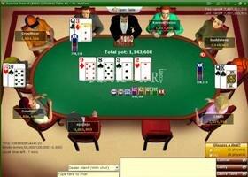 Игра в интернет покер